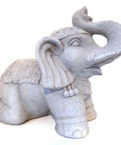 Olifant beeld Grijs | Tuin olifant beeld 41 cm| Inspiring Minds